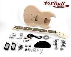Pit Bull Guitars AGB-30 Bass Guitar Kit (Short Scale)