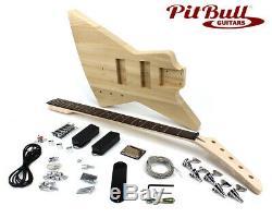 Pit Bull Guitars EX-5 Electric 5-String Bass Guitar Kit