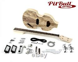Pit Bull Guitars HB-4S Electric Bass Guitar Kit