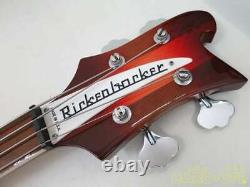 RICKENBACKER 4003 Fireglo Guitar Electric Bass Serviced Tested Used 1-950