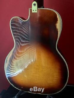 Rare 50's Vintage Kay Pro Electric Bass Guitar