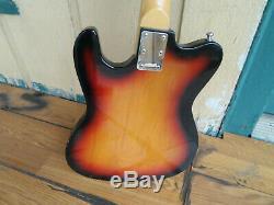 Rare! Vintage 1980 Hohner Prince Madcat Bass version Guitar Telecaster Artist