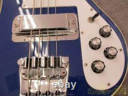 Rickenbacker 4001 Azureglo 1972 Vintage Electric Bass, j0221