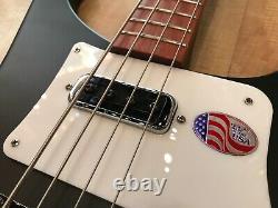Rickenbacker 4003S Bass Guitar (Matte Black)