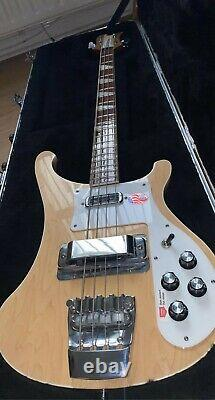 Rickenbacker 4003 Mapleglo bass with Rickenbacker hard case