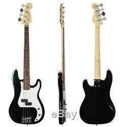 Rocket Electric Bass Guitar Pack Black