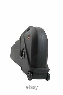 SKB ATA Rated Electric Bass Safe Gig Bag Hard Case with Wheels