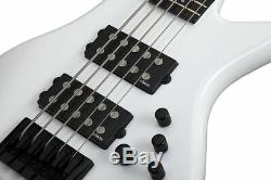 Schecter Stiletto Stage-5 Gloss White WHT B-STOCK Electric Bass Guitar Stage 5
