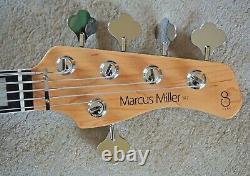 Sire Version 2 Marcus Miller P7 Alder/Ebony Precision Jazz PJ 5 String Bass MINT