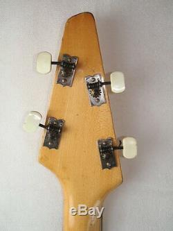 Soviet Electric guitar bass semi-acoustic guitar JOLANA BASSO IX 1967 4 string