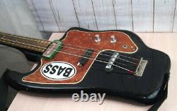 Soviet Electric guitar bass semi-acoustic guitar TONIKA 4 string