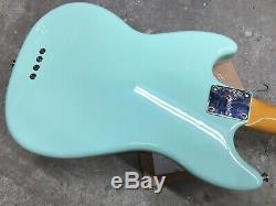Squier 60s Classic Vibe Mustang Electric Bass Guitar Surf Green