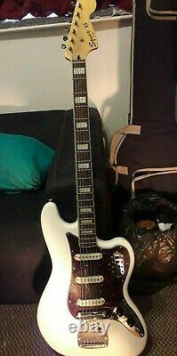 Squier Vintage Modified Bass VI Olympic White (2014)