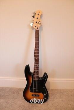 Squier by Fender Precision P Bass Guitar. Made in Indonesia