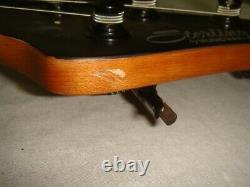 Sterling Music Man Stingray Ray34pb Poplar Burl Trans Black Sating Electric Bass