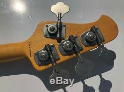 Sterling Ray 34 Electric Bass Guitar Music Man Stingray Mint Green NICE