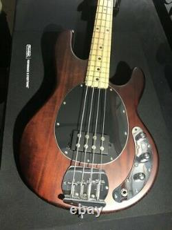 Sterling by Music Man SUB Ray4 Walnut Satin Bass guitar Ray4 WS Maple Neck