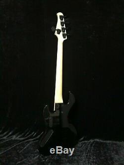 Swing Jazz 5V Black Burst 5 Strings Electric Bass Guitar
