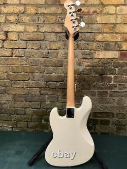 Tokai TJB44 Jazz Sound Bass Guitar White Matching Headstock New Old Stock