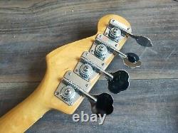 Unknown Vintage Sunburst Precision Bass (Likely Made in Japan)
