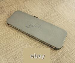 Used'91 Wal Mk2 Natural Electric Bass Fretless 5 String American Walnut Facings