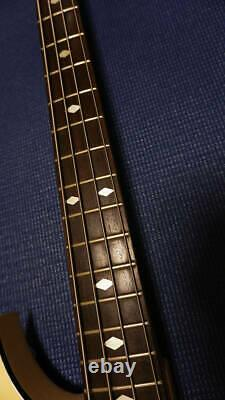 Used B. C. Rich Warlock Bass MOD Electric Bass Great Playing Condition Free Ship