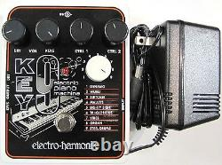 Used Electro-Harmonix EHX KEY9 Electric Piano Machine (KEY 9) Guitar Pedal