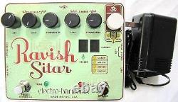 Used Electro-Harmonix EHX Ravish Sitar Electric Guitar Effect Pedal