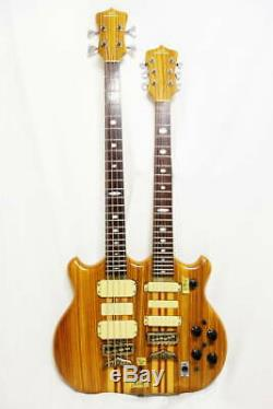 Used Fernandes FAB&FAG Alembic ish MIJ Twin / Double Neck Guitar & Bass One Off