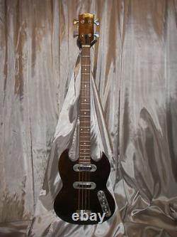 VINTAGE Gibson SB-400 Bass Dark Brown nat S/N 965144