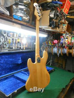 Vintage 1960's LORI Jazz Bass Guitar Guitar with Case Japan Great Player