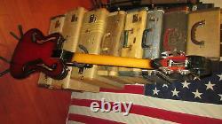 Vintage 1966 Ampeg AEB-1 Electric Bass Guitar Sunburst With Original Soft Case