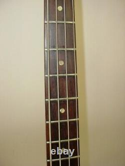 Vintage 1968 Gibson EB-O Short-Scale Electric Bass Guitar