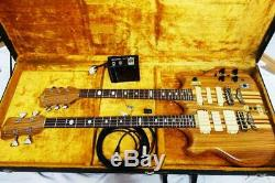Vintage 1980's Fernandes FAB&FAG Double Neck Model Guitar Bass One Off