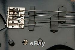Vintage Black Bc Rich La California USA Warlock Bass Guitar
