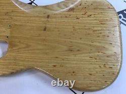 Vintage Fender USA 1979 Precision P Bass Electric Guitar Body Ash