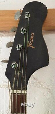 Vintage Framus Strato de luxe Star Bass