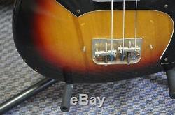 Vintage Sekova 4 String Electric Bass Guitar Free Shipping