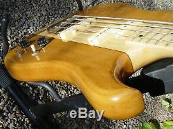 Vintage Vox Custom 3002 Electric Bass Guitar Through Neck 1980's MIJ RARE