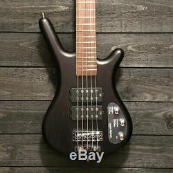 Warwick Corvette $$ 5-String Black Electric Bass Guitar