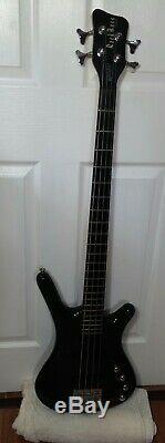 Warwick RockBass Corvette 4-String Electric Bass Guitar Trans Blue