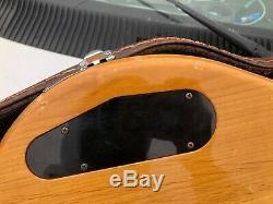 Yamaha BB2000 Broad Bass Fretless Electric Bass Guitar with Hard Shell Case