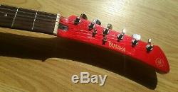 Yamaha Sgv 300 Red Samurai Electric Guitar Japan Flying Banana