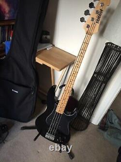 Yamaha attitude Plus bass guitar rare with PJ mod